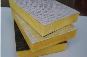 Fibre Glass Board Insulation.